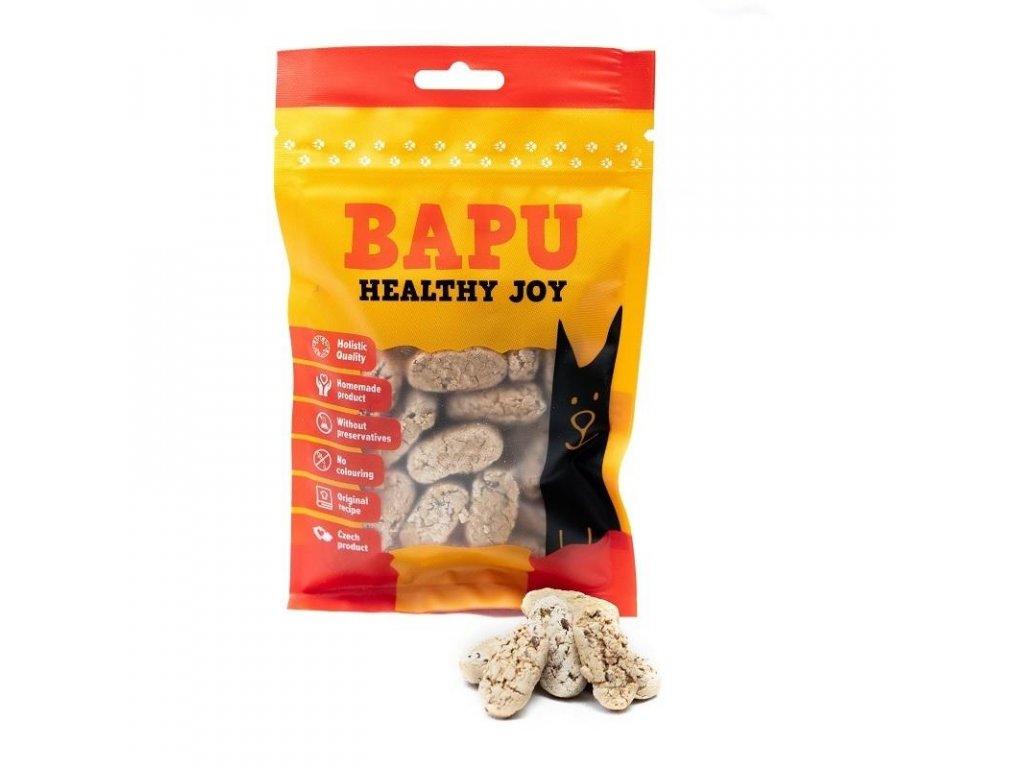 Zvěřinové sušenky s lněným semínkem