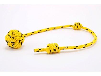 aport mini žlutá s černým prošitím